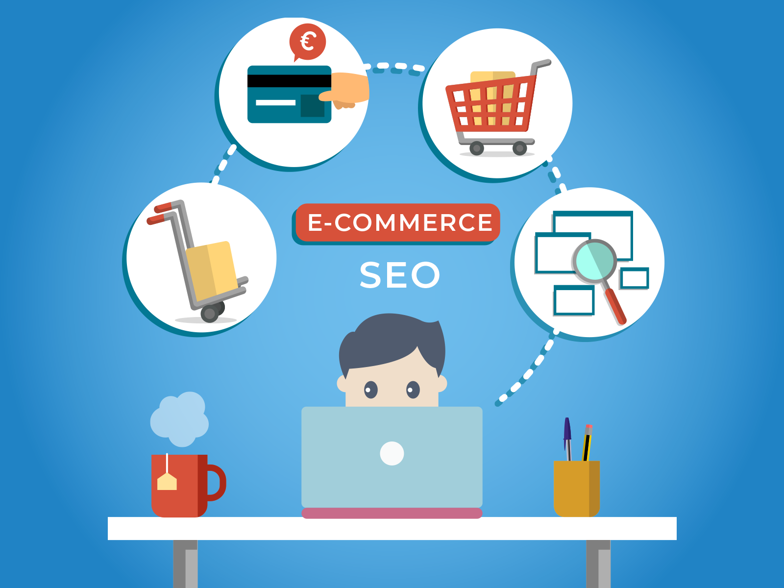 Increase online order through Ecommerce SEO with Digital Terai